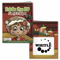 515472830-138 - BIC Graphic® Coloring Book w/Mask: Eddie the Elf - thumbnail