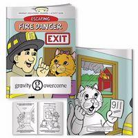 525961663-138 - BIC Graphic® Coloring Book: Escaping Fire Danger - thumbnail