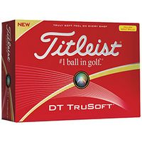 535472870-138 - Titleist® DT TruSoft™ Yellow Golf Balls (Standard Service) - thumbnail