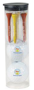 536517013-138 - Titleist® Pro V1® Par Pack w/2 Golf Balls-N-Tees - thumbnail