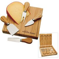 555470533-138 - BIC Graphic® Bamboo Cheese Set - thumbnail