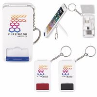 586071379-138 - Good Value® Keyring Multifunction Charging Cable w/Stand - thumbnail