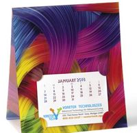 595143719-138 - NUVO™ by Triumph® Lenticular Desk Calendar - Ribbon - thumbnail