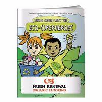 595960866-138 - BIC Graphic® Coloring Book: Eco-Superheroes - thumbnail