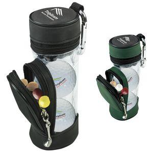 706517001-138 - Titleist® Mini Golf Bag w/Pro V1® Golf Balls - thumbnail