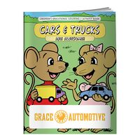 725960874-138 - BIC Graphic® Coloring Book: Cars & Trucks - thumbnail