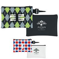 745472848-138 - Good Value® Pattern Golf Tee Pouch - thumbnail