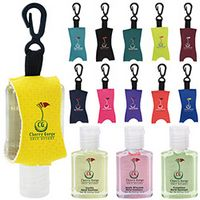 755472818-138 - 0.5 Oz. Good Value® Custom Label Hand Sanitizer w/Leash - Scented - thumbnail