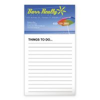 772822816-138 - BIC® Business Card Magnet w/50 Sheet Non-Adhesive Notepad - thumbnail
