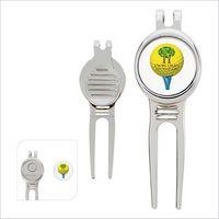 775472457-138 - GoodValue® Golfer's Divot Tool with Ball Marker - thumbnail