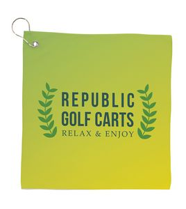 786511927-138 - Universal Source™ Small Full Color Cooling Golf Towel - thumbnail