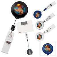 905470688-138 - Good Value® Retractable Badge Holder w/Slide Clip - thumbnail
