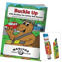 915470653-138 - BIC Graphic® Coloring Book: Buckle Up - thumbnail