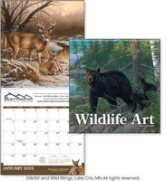 915470856-138 - Triumph® Wildlife Art Executive Calendar - thumbnail