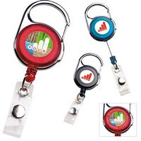 935470693-138 - BIC Graphic® Carabiner Retractable Badge Holder - thumbnail
