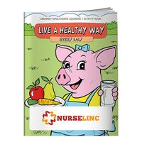 935960842-138 - BIC Graphic® Coloring Book: Live a Healthy Way Everyday - thumbnail