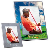 "965470707-138 - 5""x7"" BIC Graphic® Basic Brushed Matte Aluminum Frame - thumbnail"