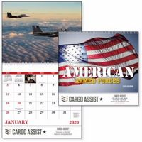 975472752-138 - Good Value® American Armed Forces Spiral Calendar - thumbnail