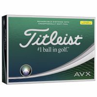 985982573-138 - Titleist® AVX™ Yellow Golf Ball - thumbnail