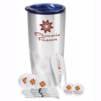 995473282-138 - Wilson® Glacial Diamonds Golf Kit w/Ultra 500 Golf Balls & Tumbler - thumbnail