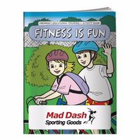 995928886-138 - BIC Graphic® Coloring Book: Fitness Is Fun - thumbnail