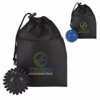 996077281-138 - GoodValue® Pressure Point Massage Ball In Pouch - thumbnail