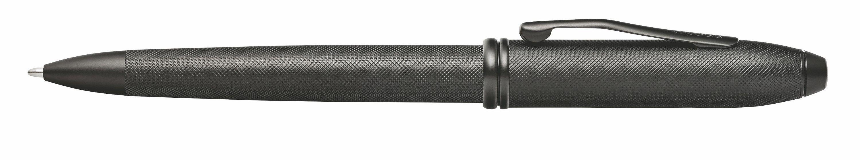 906442863-126 - Townsend® Black PVD Micro-knurl Ballpoint Pen - thumbnail