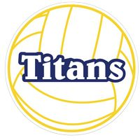 111963671-183 - Volleyball Sports Magnet - thumbnail