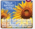 123729905-183 - Ultra Thin Calendar Mouse Pads w/ Stock Background - Sunflower - thumbnail