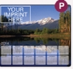 143729846-183 - Soft Surface Calendar Mouse Pads - Stock Art Background - Rockies - thumbnail