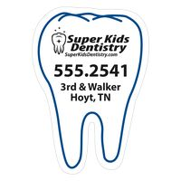 "153144829-183 - Tooth 0.03"" Thick Vinyl Die Cut Small Stock Magnet - thumbnail"
