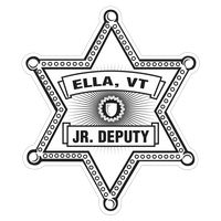 335880653-183 - Sheriff Star Paper Lapel Sticker On Roll - thumbnail