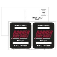 51561845-183 - Postcard Stickers w/ 2 White Vinyl Rounded Corner Adhesive Decals - thumbnail