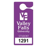 """595932448-183 - Plastic 35 pt. Numbered Hanging Parking Permit (3""""x6 3/4"""") - thumbnail"""