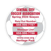 711963675-183 - Soccer Ball Sports Magnet - thumbnail