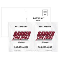 745446905-183 - Post-Cals® Postcard w/ 2 Clear Static Vinyl Rounded Corner Back Static Decals - thumbnail