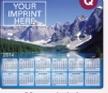 753729815-183 - Stock Art Background Hard Surface Calendar Mouse Pads - Mountain Lake - thumbnail