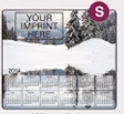 753729919-183 - Ultra Thin Calendar Mouse Pads w/ Stock Background - Winter Lake - thumbnail