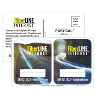 796182123-183 - Postcard Stickers w/ 2 Full Color White Vinyl Rounded Corner Decals - thumbnail