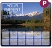 953729912-183 - Ultra Thin Calendar Mouse Pads w/ Stock Background - Rockies - thumbnail