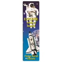 "962536135-183 - Full Color Rectangle Vinyl Plastic Bookmark w/out Slot (0.02"" Thick) - thumbnail"