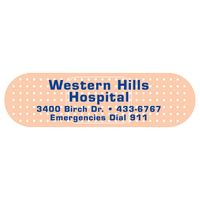 "973144767-183 - Bandage 0.03"" Thick Vinyl Die Cut Small Stock Magnet (1""x3 1/2"") - thumbnail"