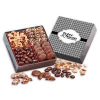 156062156-117 - Gourmet Holiday Gift Box with Weave Sleeve - thumbnail