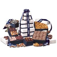 """156145019-117 - 3 Day Express Service! """"Park Avenue"""" Tower of Chocolate in Navy - thumbnail"""