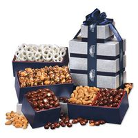 176464037-117 - Silver & Navy Tower of Treats - thumbnail