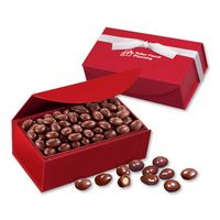 335703834-117 - Chocolate Covered Almonds in Red Magnetic Closure Box - thumbnail