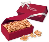 365373486-117 - Extra Fancy Jumbo Cashews in Red Magnetic Closure Gift Box - thumbnail