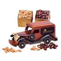 365447835-117 - 1930-Era Delivery Van with Chocolate Almonds & Extra Fancy Jumbo Cashews - thumbnail
