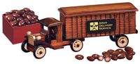 504828361-117 - 1930-Era Tractor-Trailer Truck with Chocolate Almonds - thumbnail