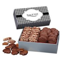526145005-117 - 3 Day Express Service! Toffee & Turtles in Gift Box with Weave Sleeve - thumbnail